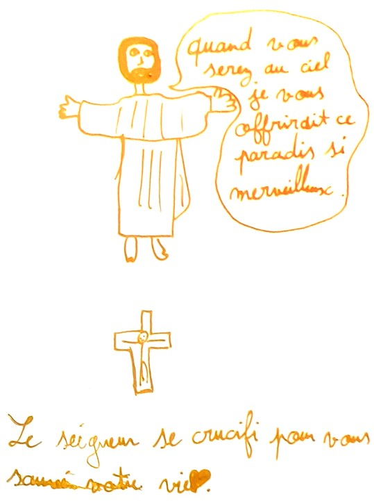Mathilde, Jésus sauveur du Monde, décembre 2020.