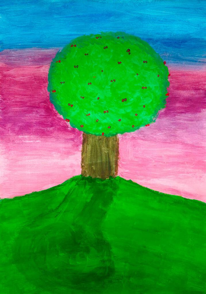 Roxane, L'arbre de la vie, février 2021.