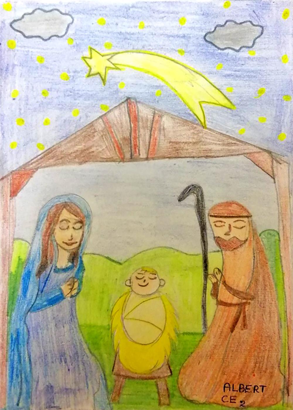 Albert, Nativité, décembre 2020.