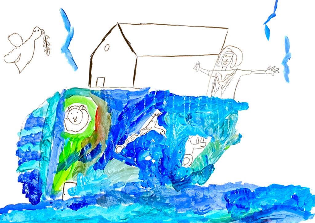 Atelier MP3, L'arche de Noé, mars 2021.