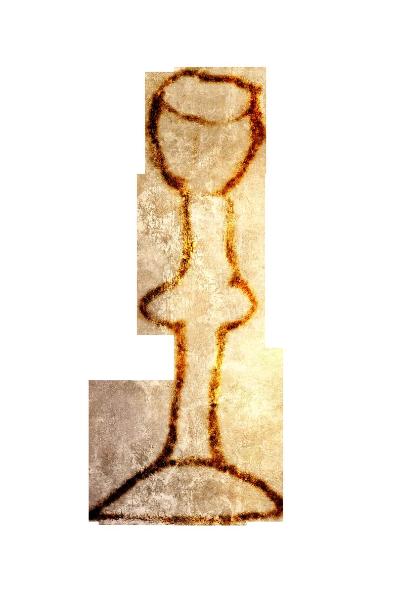 Olivier, Calice d'or et d'argent, mars 2021.