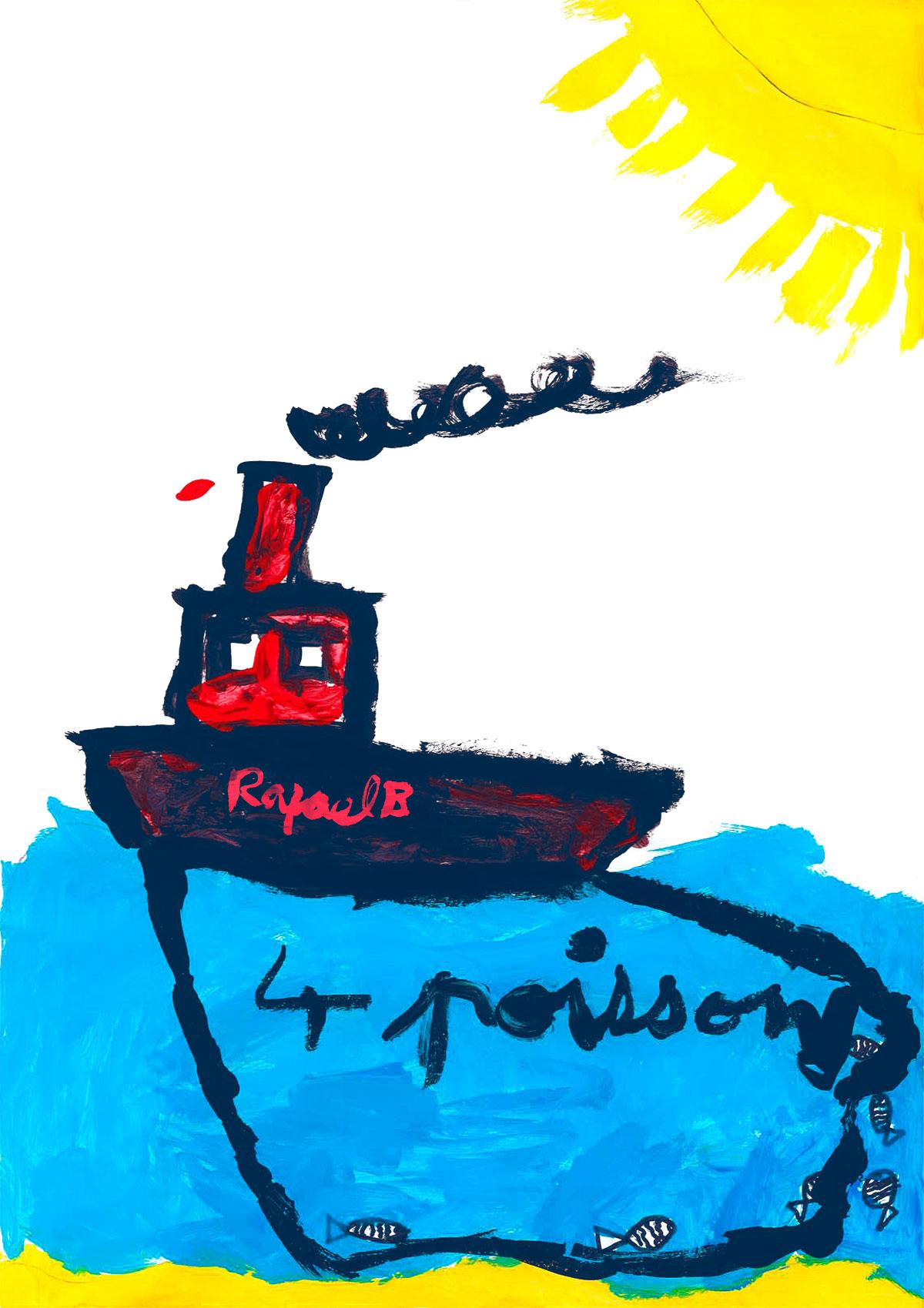 Rafaël, La première pêche infructueuse, mars 2021.