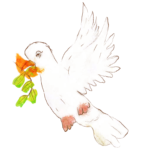 Yohan, Colombe de la paix, mars 2021.