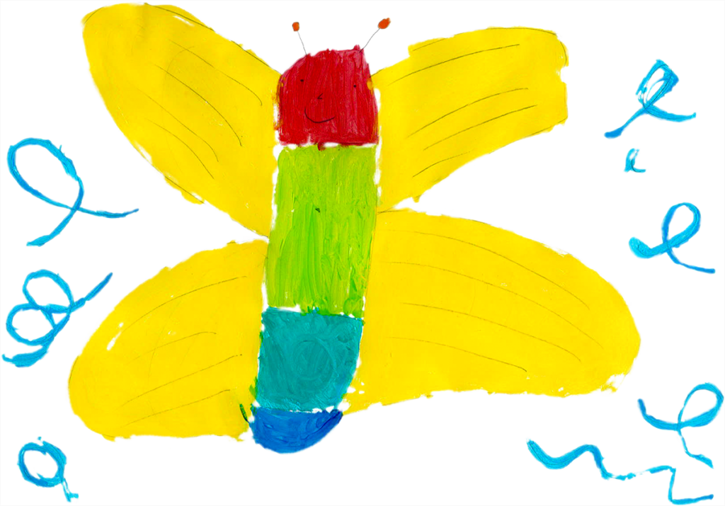 Apolline, Papillon, février 2021.