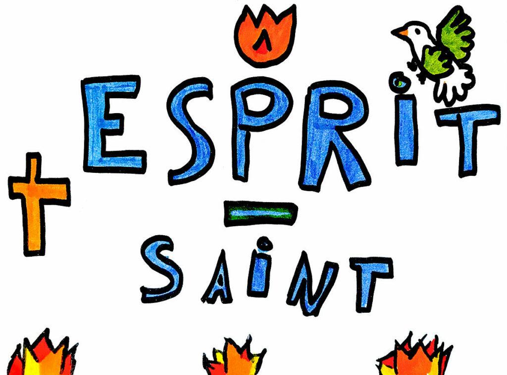 Clara, Esprit Saint, mai 2021.