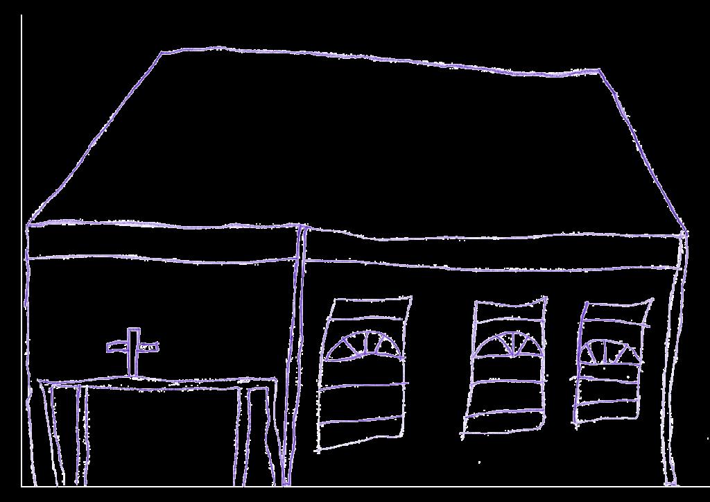 Atelier MP3, Église, février 2021.