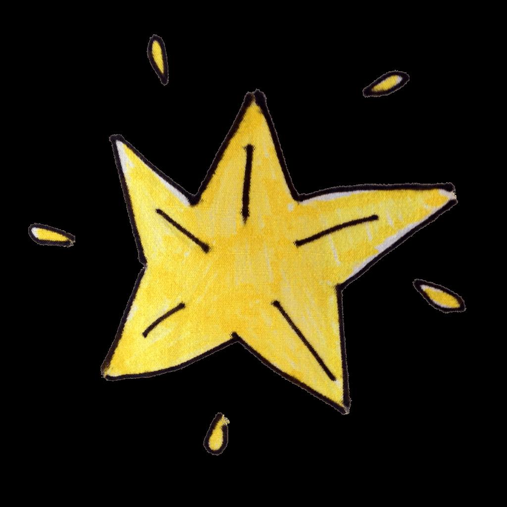 Étoile carambole, décembre 2020.