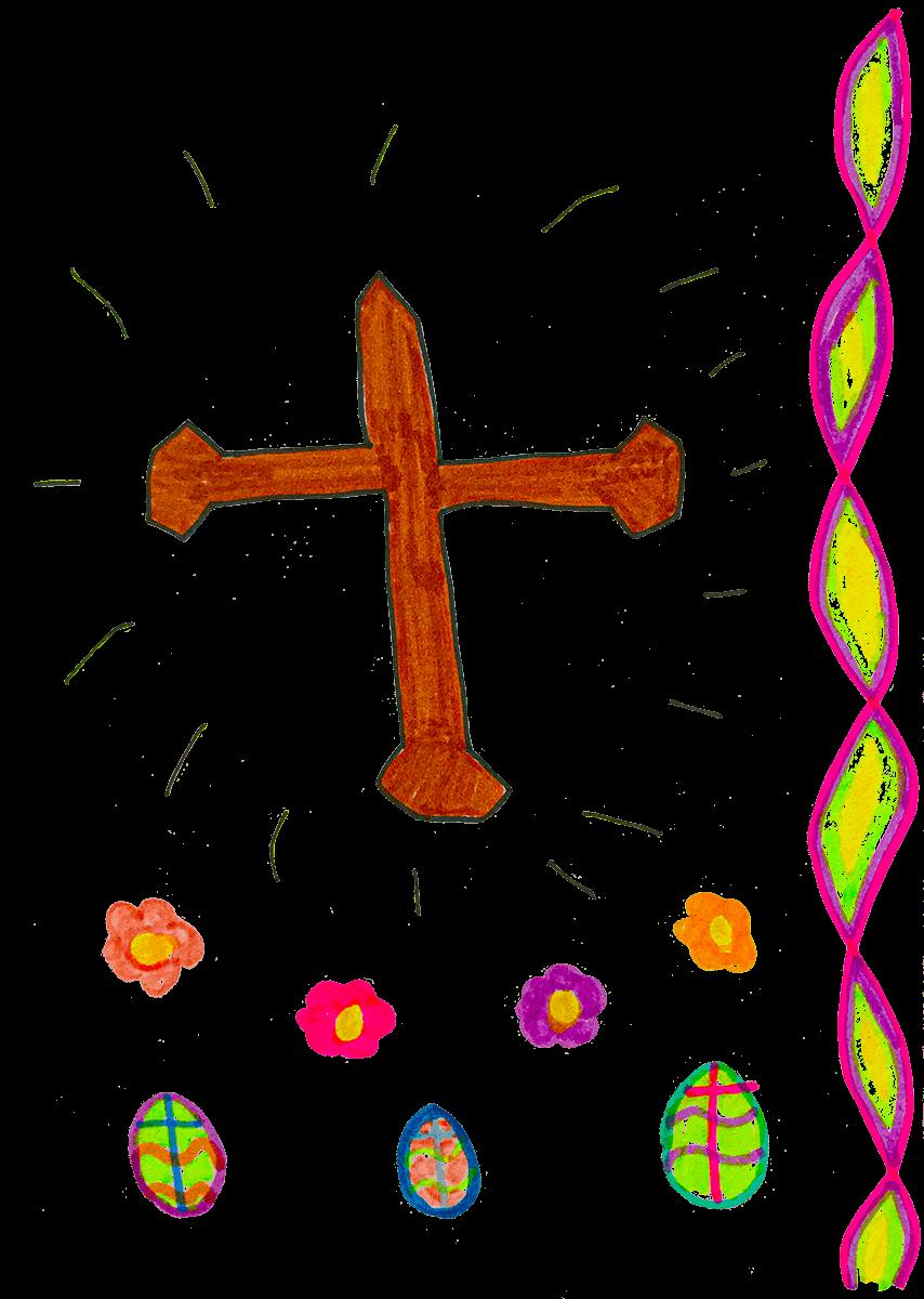 Victor, Croix de Pâques, mars 2021.