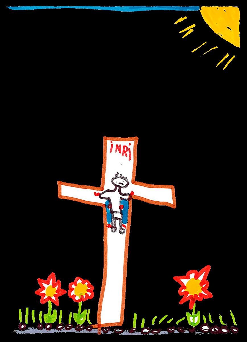 Paola, Jésus sur la croix, mai 2021.